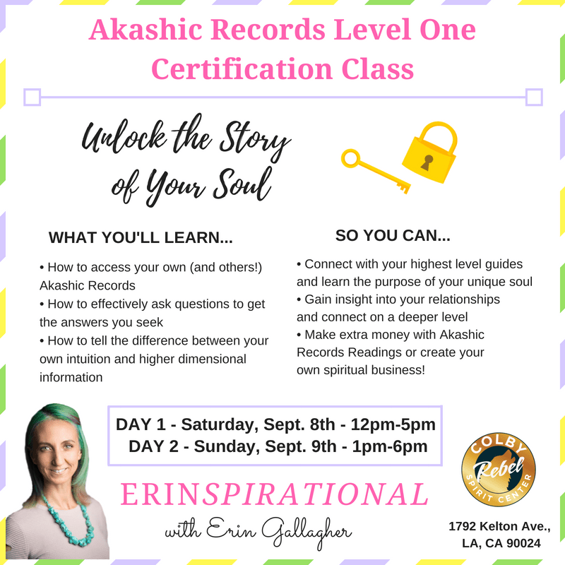 Akashic Records Level One Certification Class