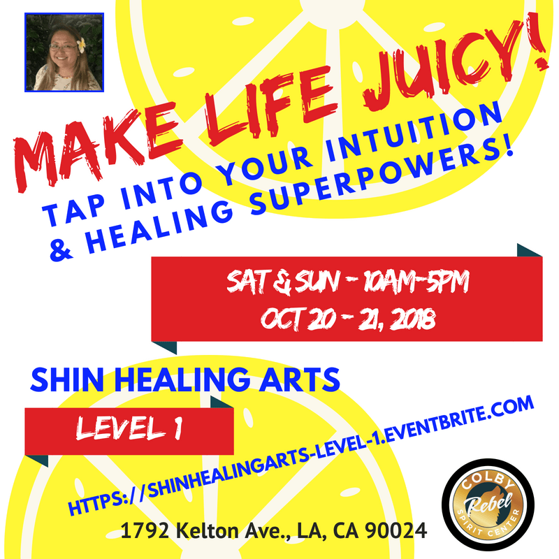 Shin Healing Arts - Level 1 - Intuition Booster