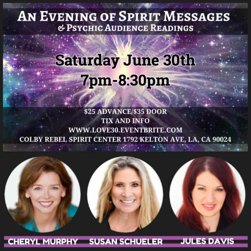 an evening of spirit messages