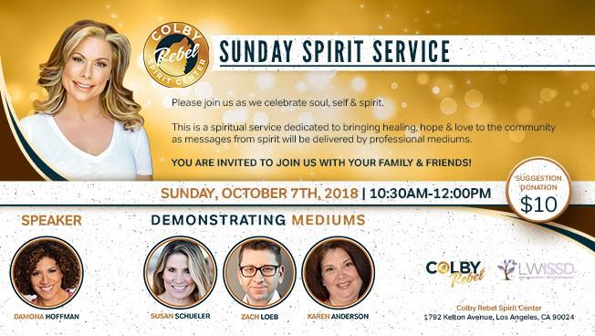 Sunday Spirit Service October