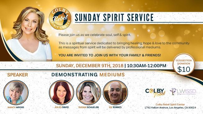 Sunday Spirit Service-December