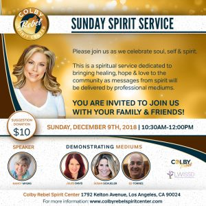 Sunday Spirit Service-December