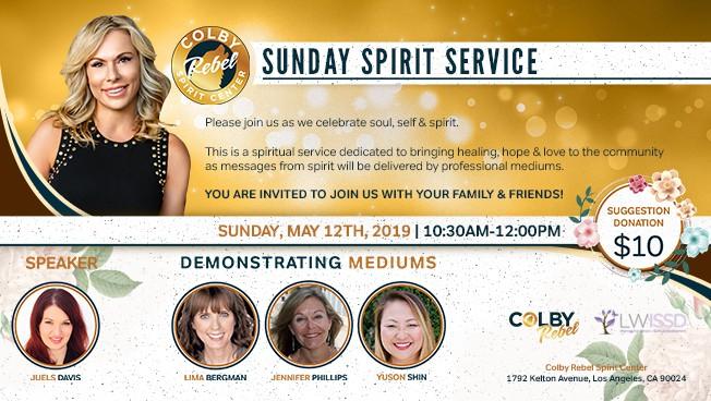 Sunday Spirit Service Los Angeles