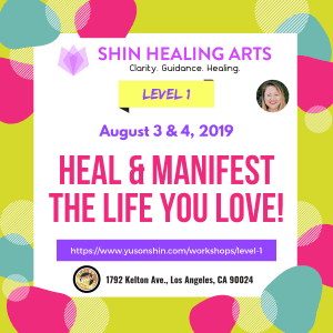 Shin Healing Arts-YuSon Shin Level 1