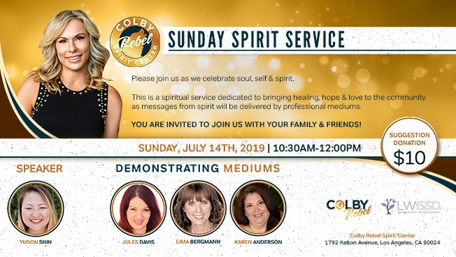 July Spirit Service Los Angeles