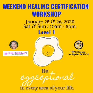 Weekend Healing Certification Workshop