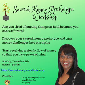 Sacred Money Archetype